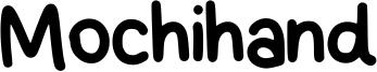 Mochihand Font