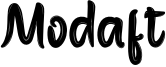 Modaft Font