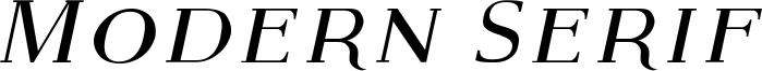 Modern Serif Italic.ttf