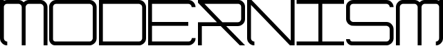 Modernism Font