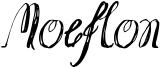 Moeflon Font