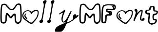 MollyMFont Font