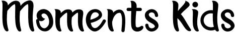 Moments Kids Font