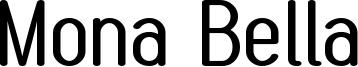 Mona Bella Font