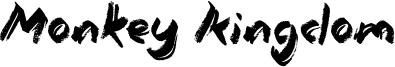 Monkey Kingdom Font