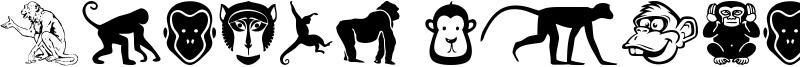 Monkey Business Font