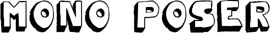Mono2poser Font