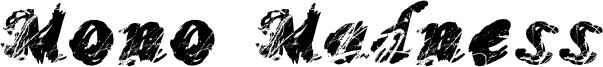 Mono Madness Font