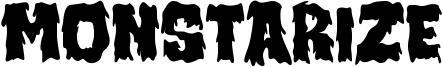 Monstarize Font