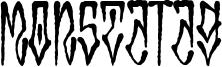 MonstaTag Font