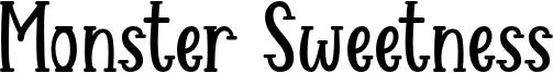 Monster Sweetness Font