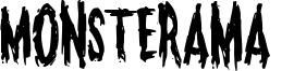 Monsterama  Font