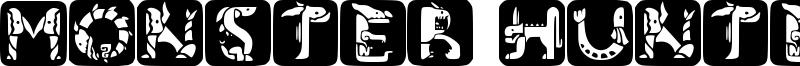Monster Hunter Font