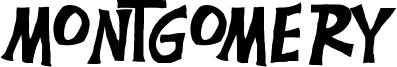 Montgomery Font