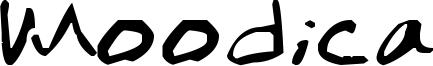 Moodica Font