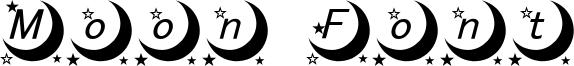 Moon Font Font