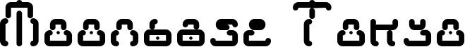 Moonbase Tokyo Font
