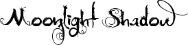 Moonlight Shadow Font