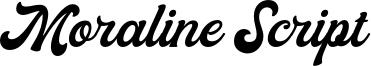 Moraline Script Font