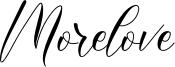 Morelove Font