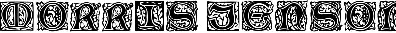 Morris Jenson Initialen Font