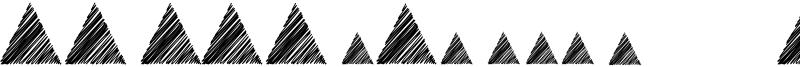 Morse Mountain Code Font