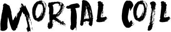 Mortal Coil Font