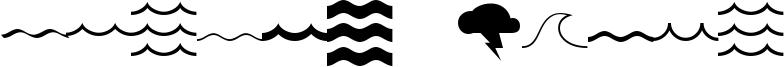 Mostly Waves Font