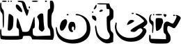 Moter Font