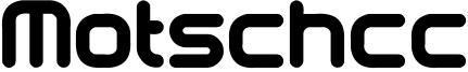 Motschcc Font