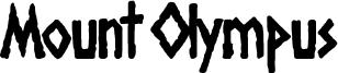 Mount Olympus Font