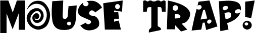 Mouse Trap! Font