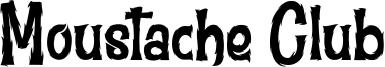 Moustache Club Font