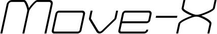 Move-X Light Italic demo.otf