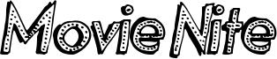Movie Nite Font