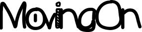 MovingOn Font