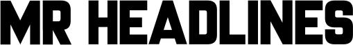 Mr Headlines Font