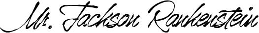 Mr.Jackson Rankenstein Font