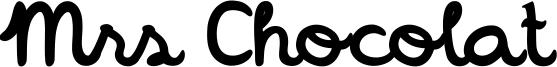 Mrs Chocolat Font
