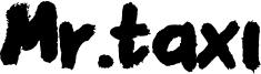 Mr.taxi Font