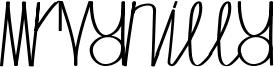 MrVanilla Font