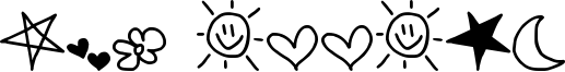 MTF Doodle Font