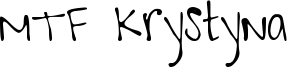 MTF Krystyna Font
