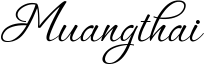 Muangthai Font