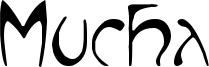Mucha Font