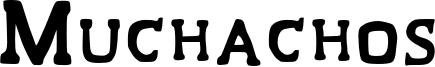 Muchachos Font
