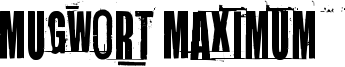 Mugwort Maximum Font