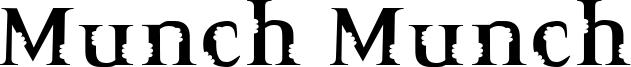 Munch Munch Font