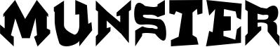 Munster Font