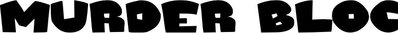 Murder Block Font
